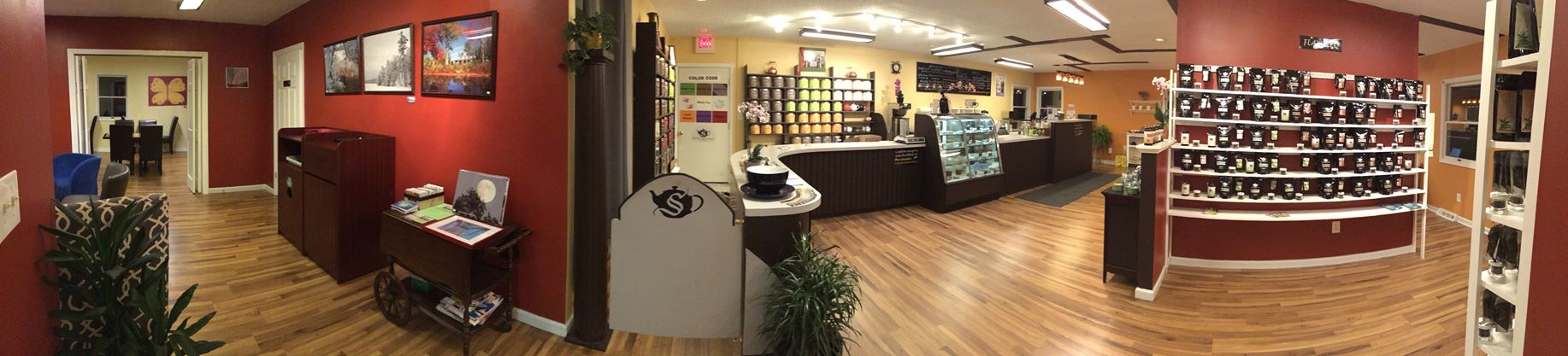 Albany Tea Shop Panorama